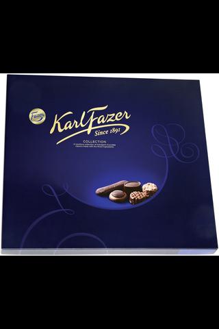 Karl Fazer Collection 825g 96 konvehtia 14 eri makua, suklaakonvehdit