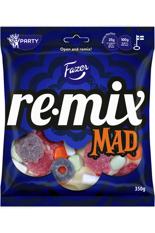 Remix Mad 350g makeissekoitus