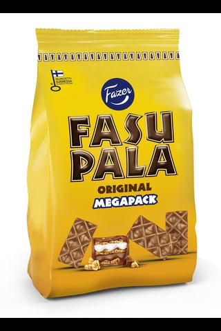 Fasupala Original 400g n. 46kpl maitosuklaalla kuorrutettuja (42%) toffeenmakuisia vohvelikeksipaloja