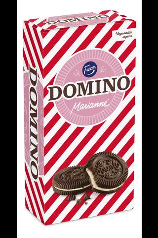 Domino Marianne 350g kaakaokeksejä, joissa piparmintturouhetäytettä (28%), 350g, 26kpl