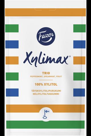 Xylimax 130g Trio piparmintun, spearmintin ja hedelmän makuisia täysksylitolipurukumi