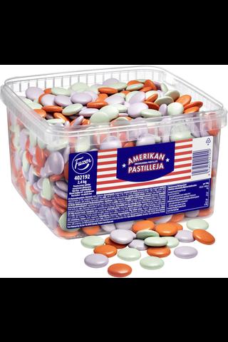 Amerikan pastilleja 2,4kg maitosuklaarae