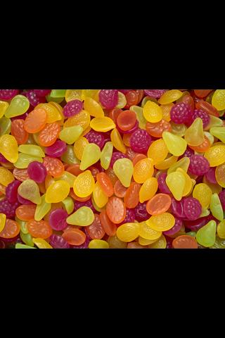 Tutti Frutti Original 2,2 kg Natural, hedelmänmakuisia makeisia