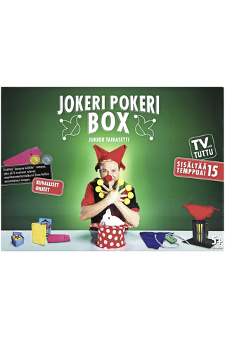 Jokeri Pokeri Box Junior taikasetti 15 temppua