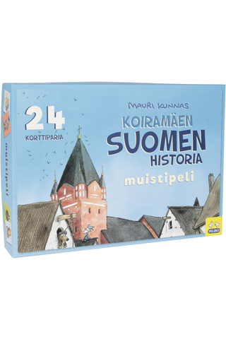 Mauri Kunnas Suomen historia muistipeli 24 paria