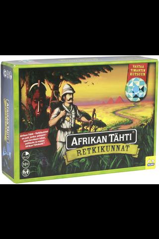 Peliko Afrikan Tähti retkikunnat lautapeli