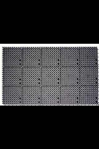Plast-Turf Palaruohomatto 43x71 musta