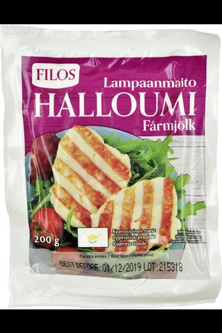 Filos 200g kyproslainen halloumi-juusto lampaanmaidosta