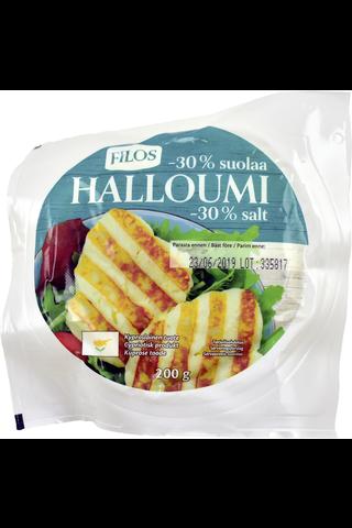 Filos 200g halloumi-juusto -30% suolaa
