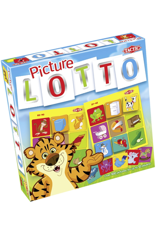 Tactic Lotto Kuvat peli