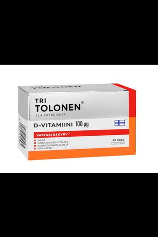 Tri Tolonen D-vitamiini 100µg 60kaps