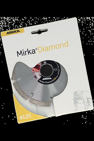 Mirka Diamond timanttilaikka 125x22,2mm SE
