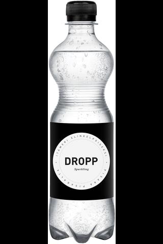 DROPP 0,5l hiilihapotettu lähdevesi