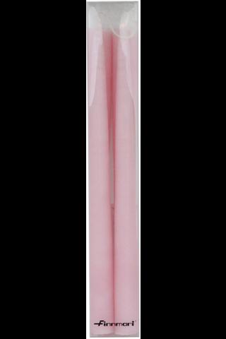 Finnmari 30cm antiikkikynttilä vaaleanpunainen 4kpl