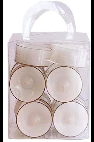 Finnmari Lämpökynttilä muovikuori 20kpl valkoinen
