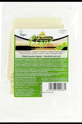 Porlammin 150g Vege Plus viipaleet kasvirasvavalmiste