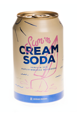 Sun'n Cream Soda 0,33l tlk