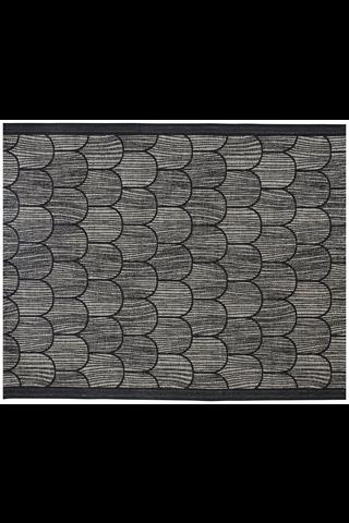 Lapuan Kankurit Paanu pefletti 48x60cm 9/musta-pellava
