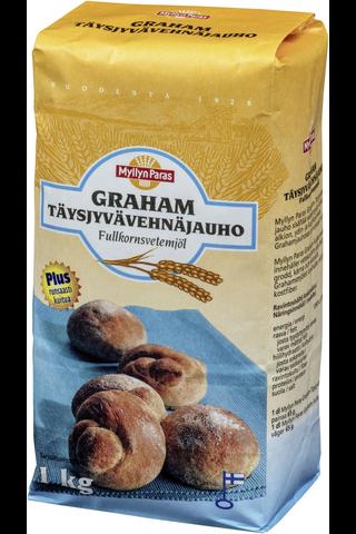 Myllyn Paras Graham Täysjyvävehnäjauho 1kg