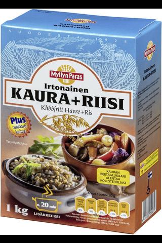 Myllyn Paras Irtonainen Kaura+Riisi 1 kg