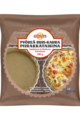 Myllyn Paras Pyöreä Ruis-Kaura Piirakkataikina 380 g pakaste