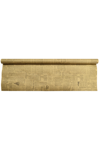 J.K. Primeco naturlahjapaperi Sanomalehti 70cmx5m