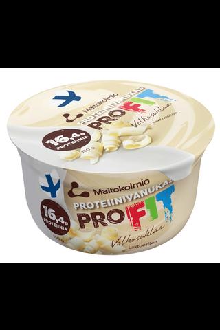 PROFIT 150g valkosuklaa proteiinivanukas