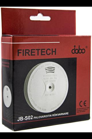 Firetech optinen palovaroitin