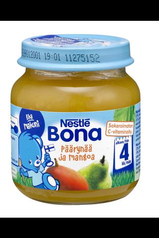 Nestlé Bona 125g Päärynää ja mangoa hedelmäsose 4kk