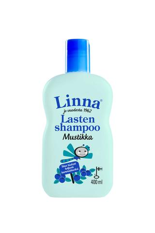 Linna 400ml mustikka shampoo lasten