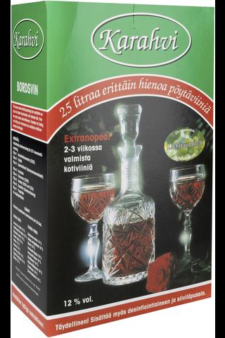 Karahvi 270g liebfraumilch viiniaines