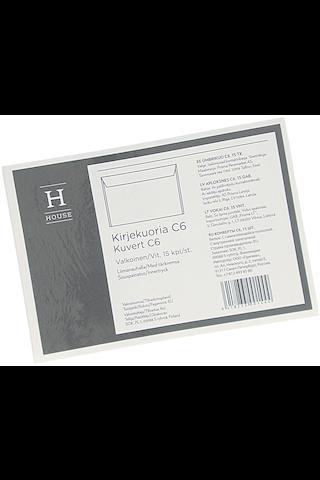 Hg Kirjekuoria C6 15 Kpl