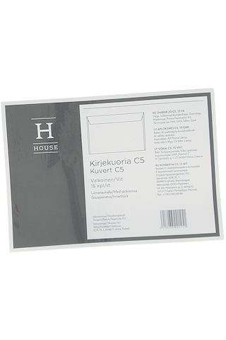 Hg Kirjekuoria C5 15 Kpl