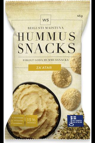 WS Hummus Snacks Zaátar 45g