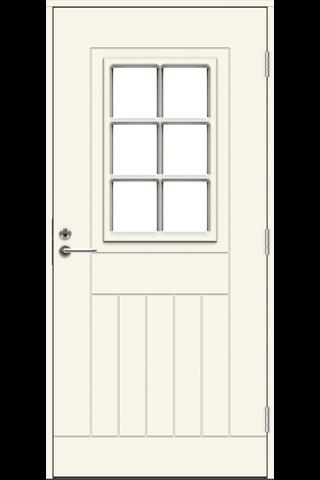 Jeld-Wen eco Function ulko-ovi Wadden 10x21 vasen valkoinen