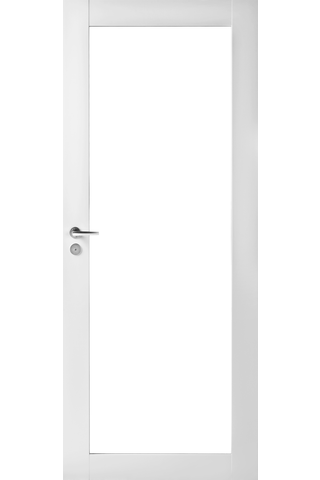 JELD-WEN Trend 302K 9x21 symm pinnoitettu valkoinen kirkas lasi kehysovi
