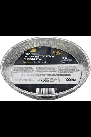 Eskimo grilli-ja paistovuoka Ø28cm 3kpl