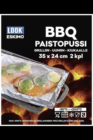 Look Eskimo BBQ paistopussi 24x35mm 2kpl