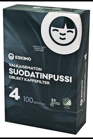 Eskimo No 4/100 vton suodatinpussi