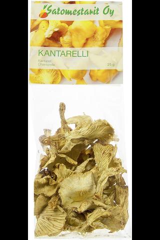 Kuivattu Kanttarelli