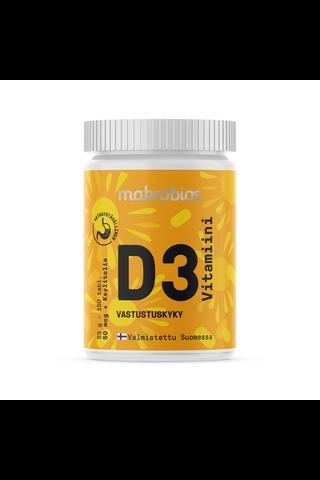Makrobios 53g D-vitamiini 50mcg purutabletti 150kpl