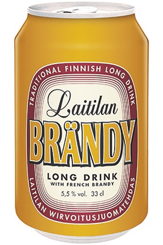 Laitilan Brändy 0,33L 5,5 % long drink