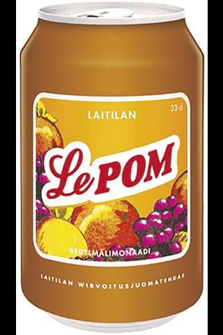 Laitilan Le Pom 0,33L hedelmälimonaadi