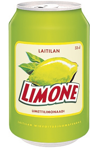 Laitilan Limone 0,33L limetinmakuinen limonaadi