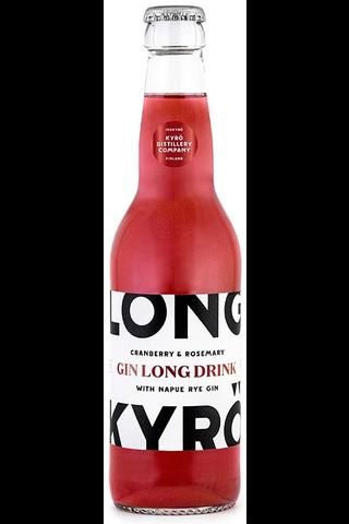 Long Kyrö 0,33l gin cranberry & rosemary 5,5% long drink