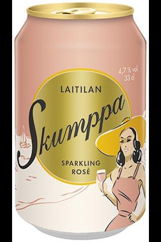Laitilan Skumppa 0,33L Sparkling Rosé 4,7% siideri