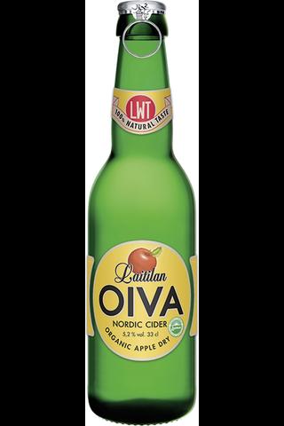 Laitilan Oiva 0,33L Organic Apple Dry 5,2% siideri