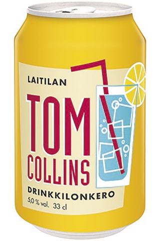Laitilan Tom Collins 0,33L 5,0% drinkkilonkero