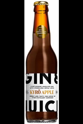 Gin & Juice Kyrö Omena 5,5% 0,33L long drink