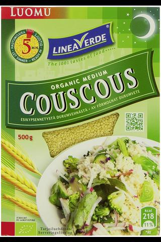 Linea Verde 500g Organic Couscous esikeitetty durumvehnä